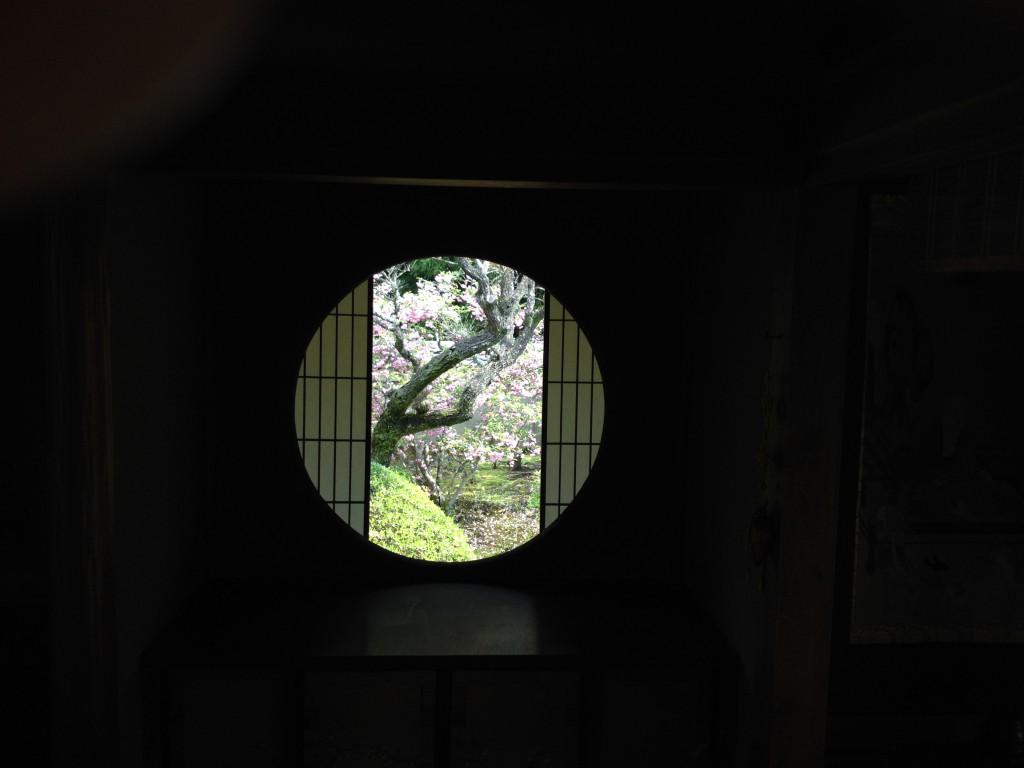 雲龍院悟りの間(悟りの窓).