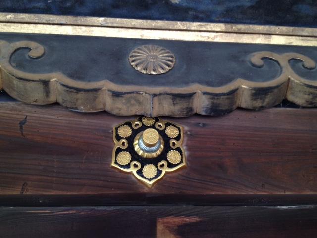 龍華殿菊の紋様