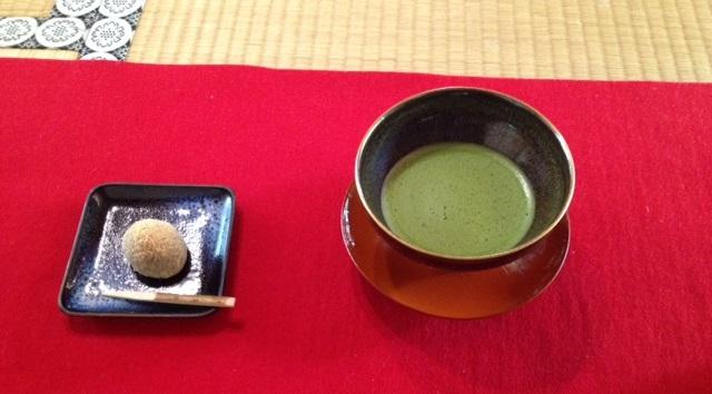 雲龍院写経(抹茶とお菓子)