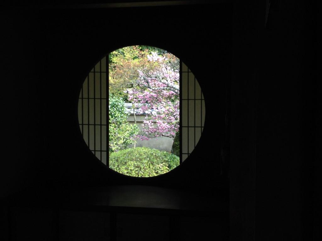 雲龍院悟りの間(悟りの窓)...