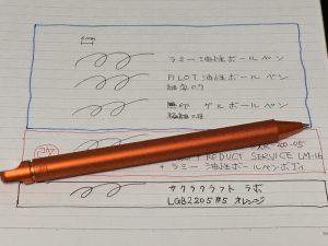 世界一書きやすいボールペン
