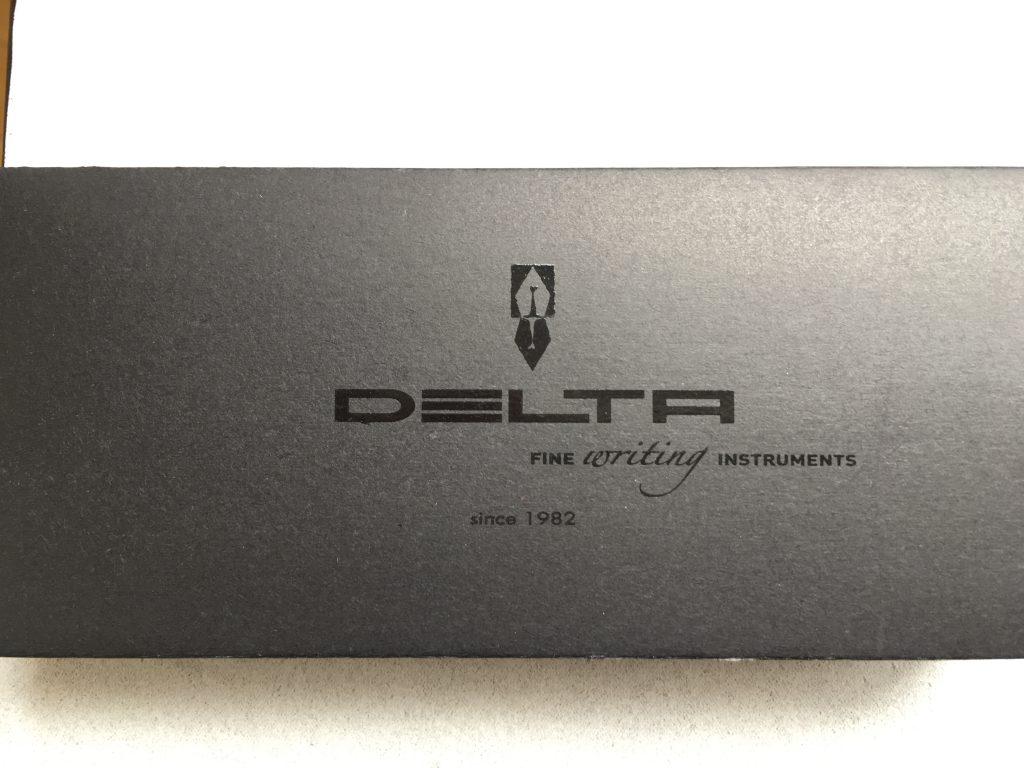 DELTA fountain pen デルタ万年筆化粧箱